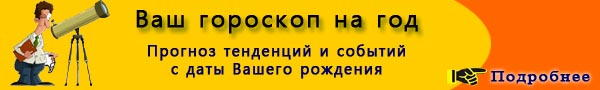 Гороскоп на 2009 год по знакам зодиака и по году рождения