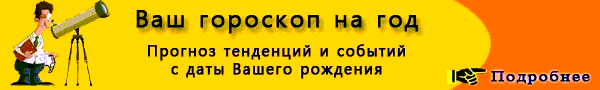Гороскоп на 2168 год по знакам зодиака и по году рождения