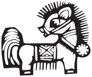 Лошадь - символ 2194 года по восточному календарю
